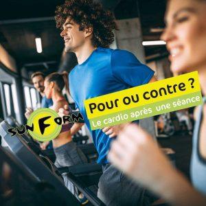 Pour ou contre le cardio-training après la séance ?