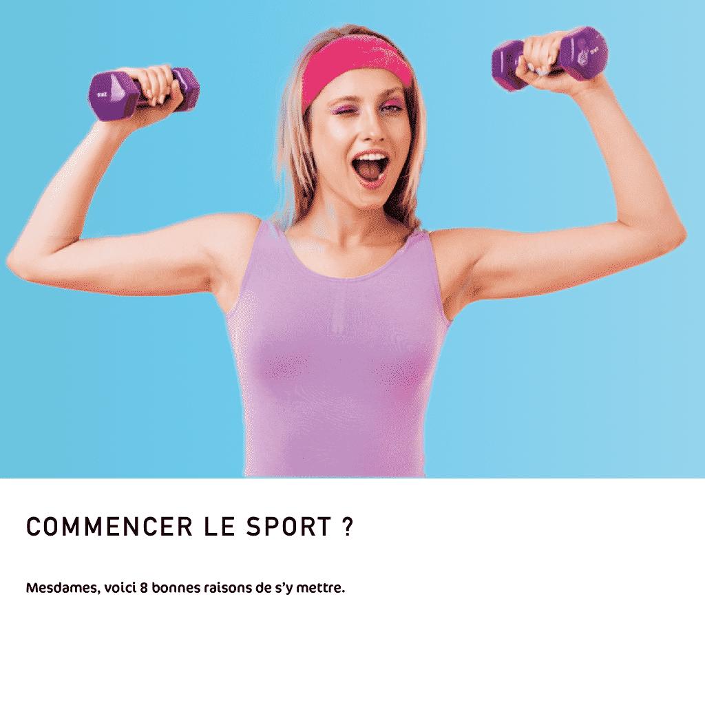 8 bonnes raisons pour les femmes pour commencer la musculation !